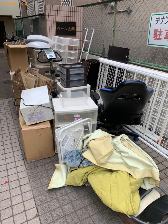 【京都市右京区】冷蔵庫、テレビ、洗濯機、ロフトベッド等の回収