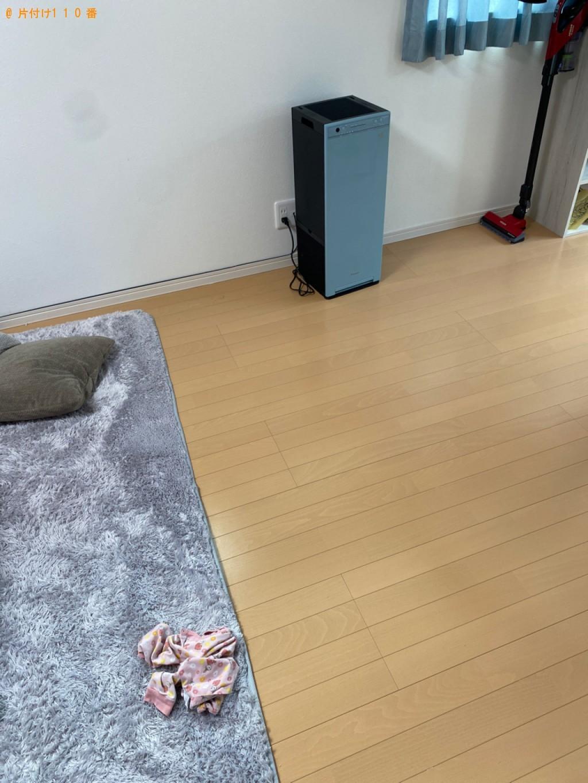 【京都市左京区】三人掛けソファーの回収・処分ご依頼 お客様の声