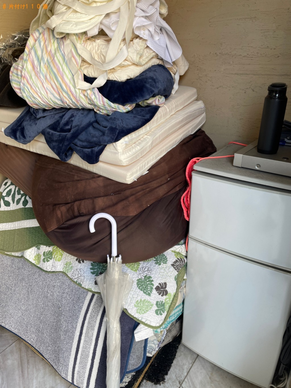【乙訓郡大山崎町】冷蔵庫、パソコン、カーペット、ラック等の回収