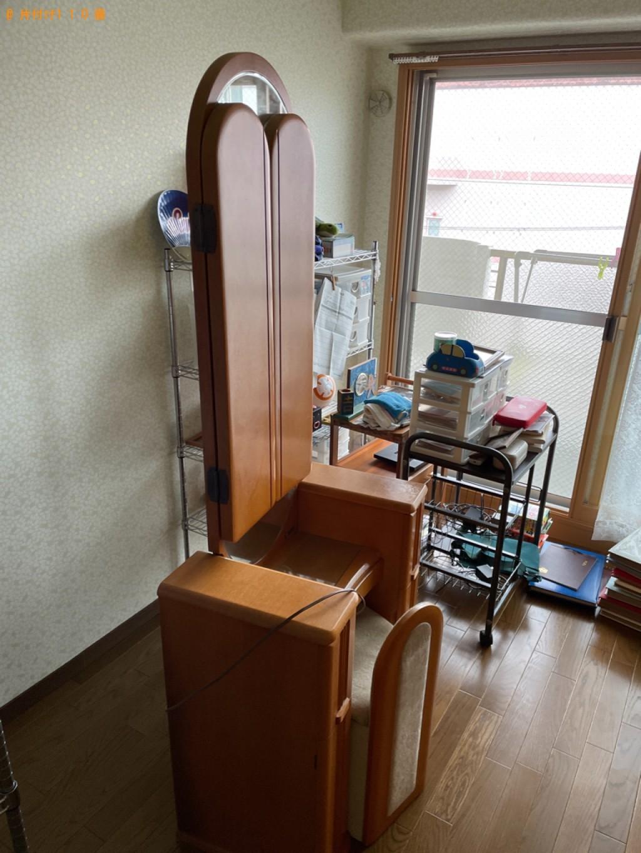 【京都市左京区】鏡台、婚礼ダンスの回収・処分ご依頼 お客様の声