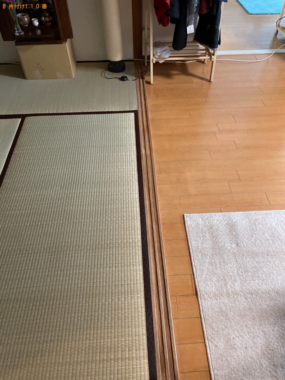 【京都市中京区】机、棚の回収・処分ご依頼 お客様の声
