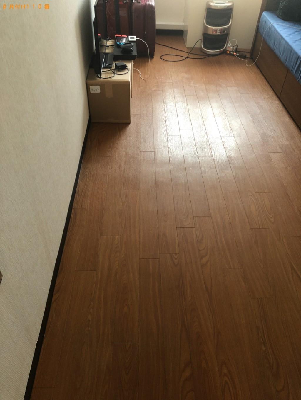 【京都市左京区】カラーボックス、テレビ台、自転車、布団等の回収