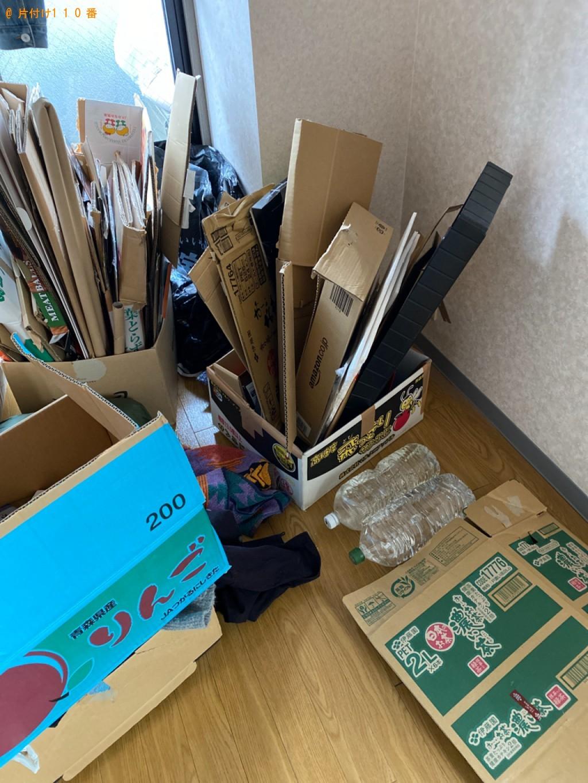 【京都市伏見区】ダンボール、食品、混在ゴミの回収・処分ご依頼