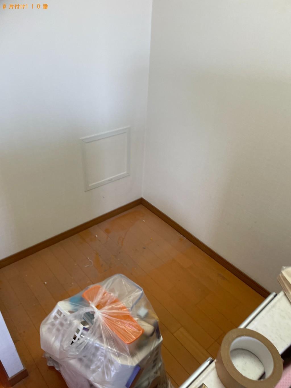 【京都市左京区】洗濯機、冷蔵庫、電子レンジ、ローテーブル等の回収