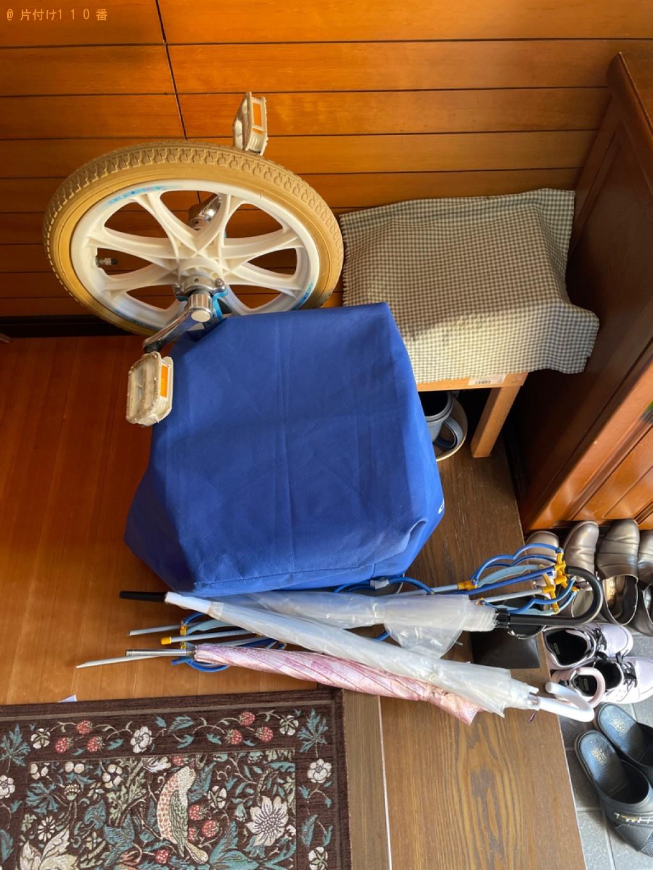 【京都市右京区】こたつ、鏡台、自転車、婚礼ダンス等の回収・処分