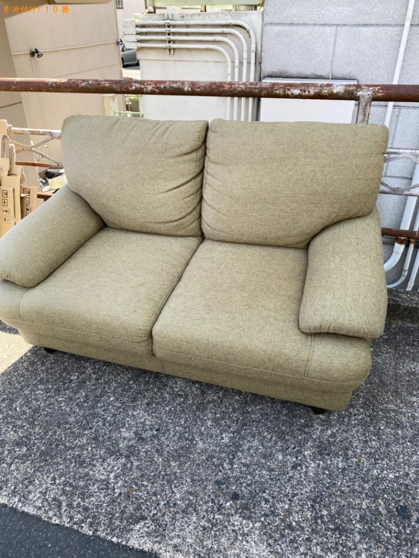 【京都市右京区】三人掛けソファーの回収・処分ご依頼 お客様の声