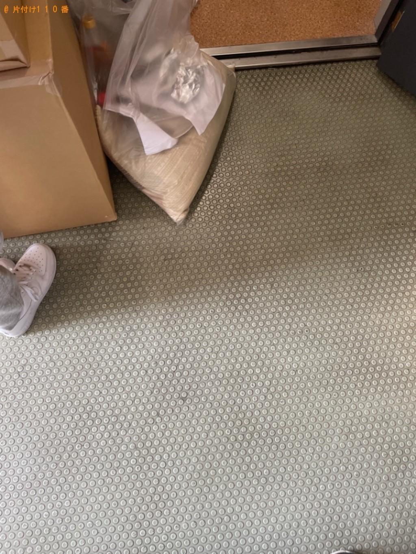 【京都市右京区】ウレタンマットレス、カラーボックス等の回収・処分