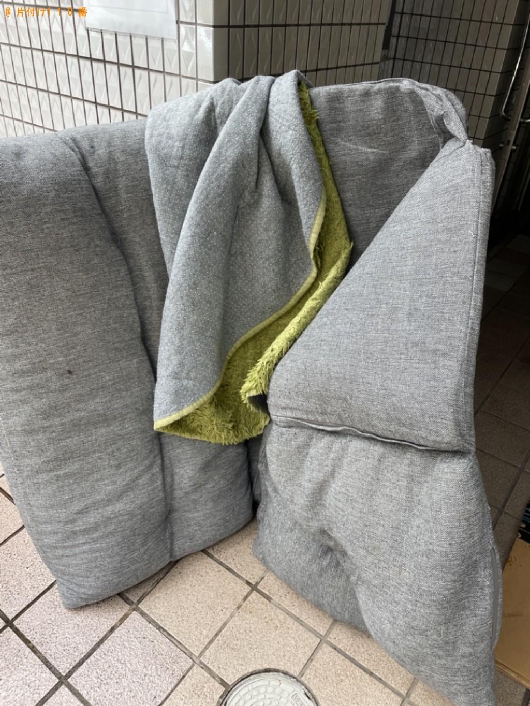【京都市下京区】ソファーベッド、衣類の回収・処分ご依頼