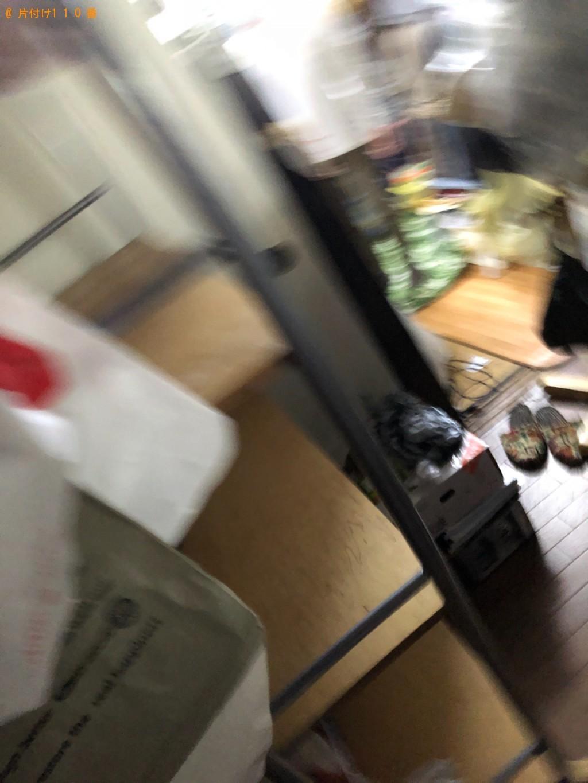 【京都市左京区】カラーボックス、ラック、一般ごみ等の回収