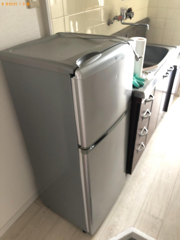 【京都市中京区】冷蔵庫、洗濯機、電子レンジ、ガスコンロの回収