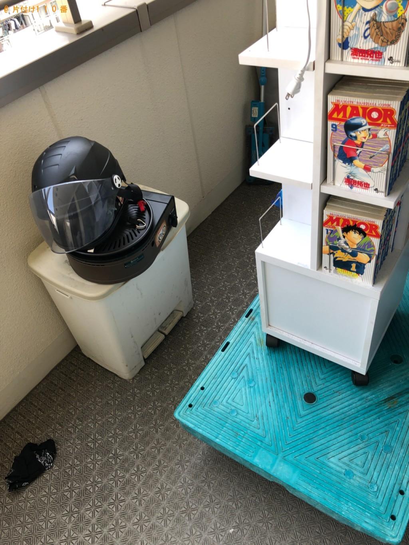 【京都市中京区】本棚、ウレタンマットレス、掃除機、マンガ等の回収
