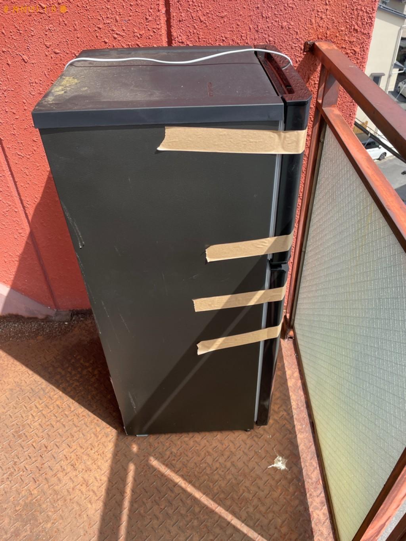 【京都市左京区】冷蔵庫、カラーボックス、椅子、布団等の回収・処分