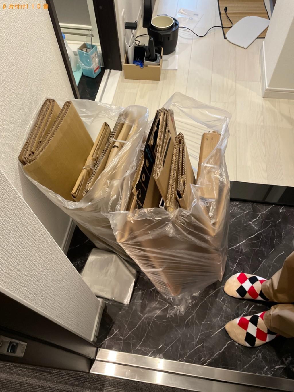 【京都市左京区】ダンボールの回収・処分ご依頼 お客様の声