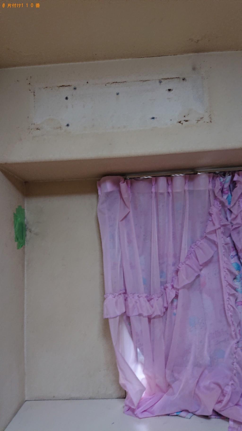 【京都市伏見区】本棚、タンス等の回収とハウスクリーニングご依頼