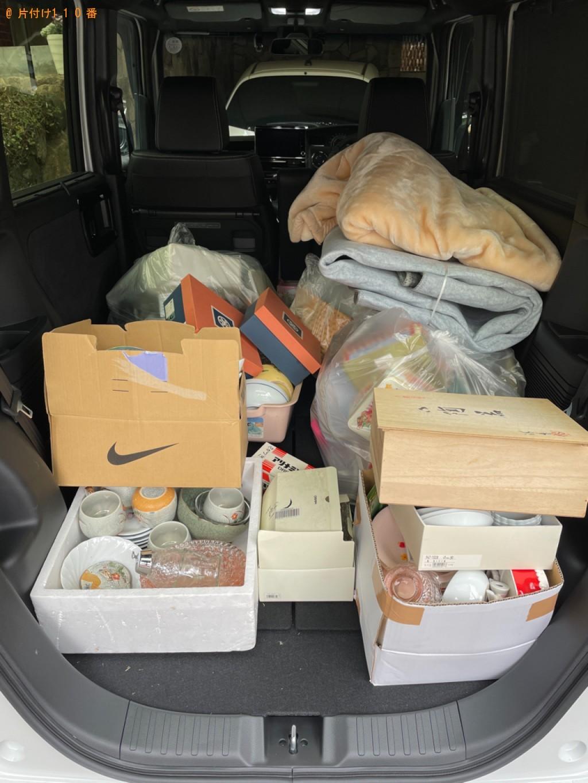 【京都市北区】カーペット、布団、一般ごみ、食器等の回収・処分