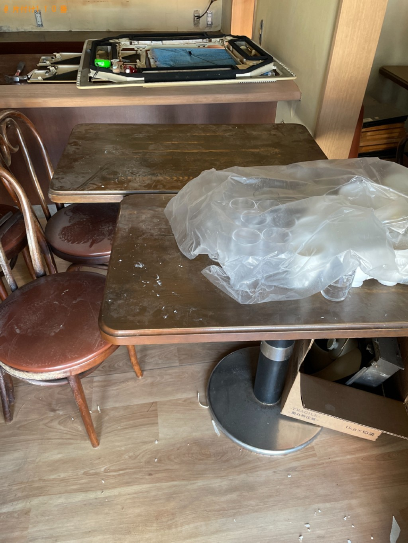【八幡市】テーブル、椅子、食器、調理器具等の回収・処分ご依頼