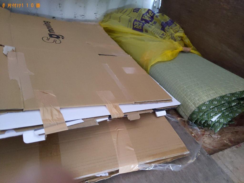 【京都市中京区】カーペット、ダンボールの回収・処分ご依頼