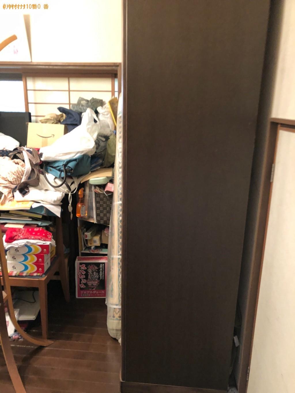【京都市左京区】三人掛けソファー、タンスの回収・処分ご依頼