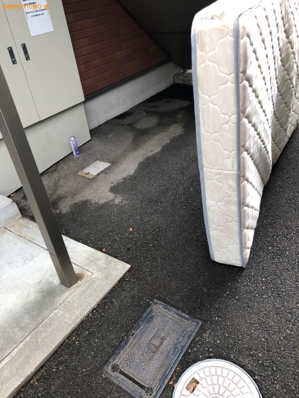 【京都市】セミダブルマットレスの回収・処分ご依頼 お客様の声