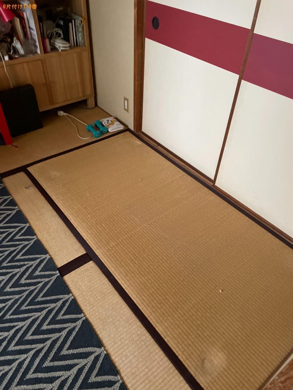 【京都市下京区】二人掛けソファーの回収・処分ご依頼 お客様の声