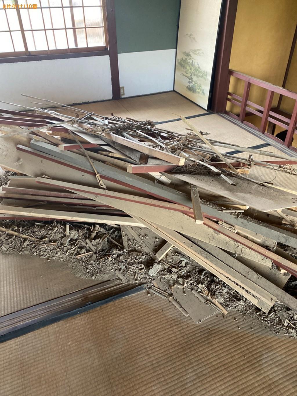 【亀岡市余部町】木材等の回収・処分ご依頼 お客様の声
