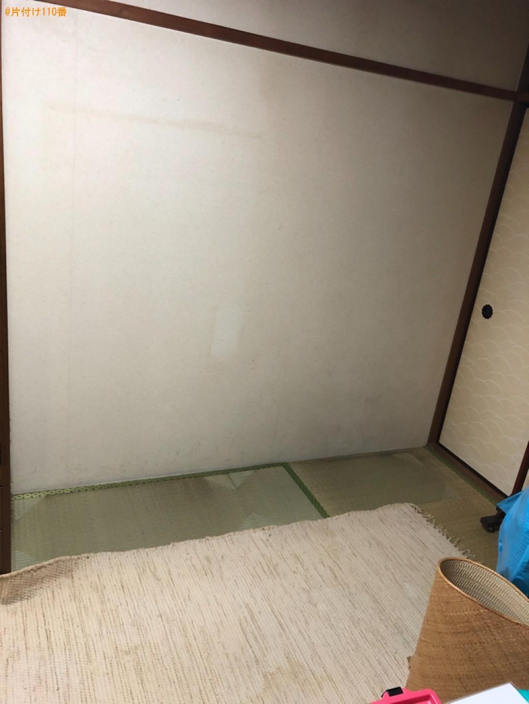 【京都市下京区】タンス、食器棚の回収・処分ご依頼 お客様の声