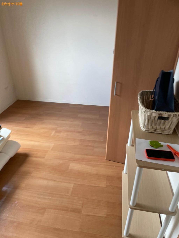 【長岡京市】ベッド、ソファー、ダイニングテーブル、椅子等の回収