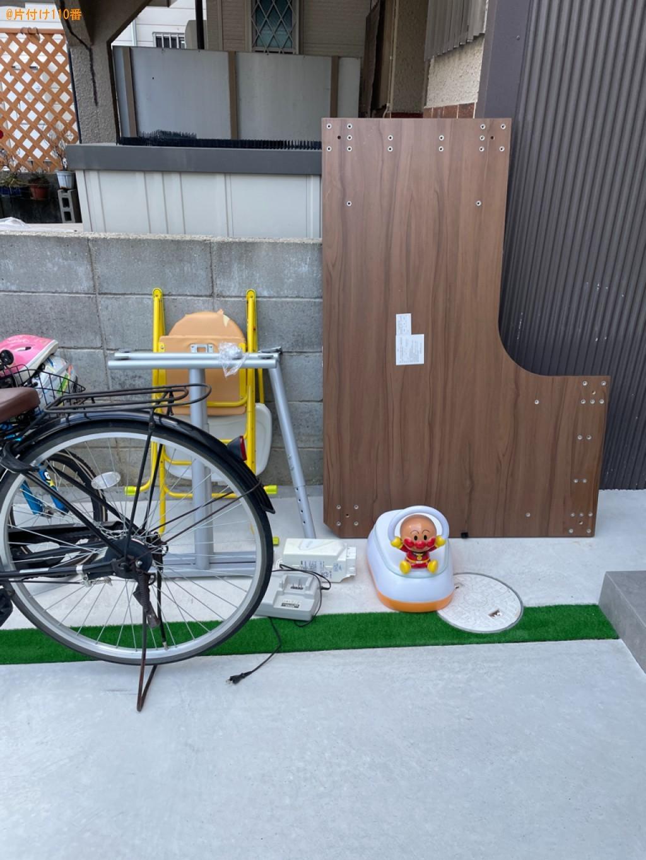 【京都市右京区】椅子、自転車、おまる、小型家電等の回収・処分