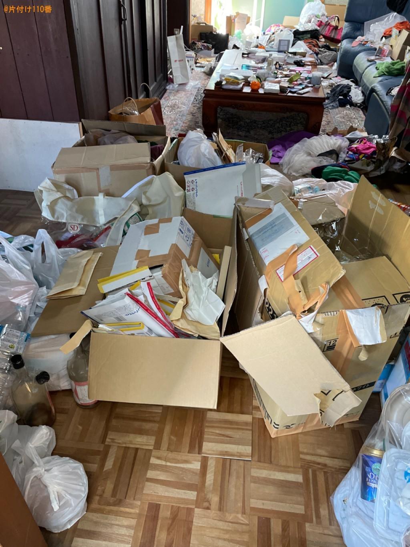 【京都市伏見区】一般ごみの片付け・回収・処分ご依頼 お客様の声