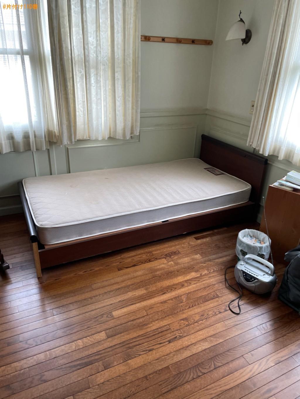 【長岡京市】パソコン、マットレス付きシングルベッド等の回収・処分