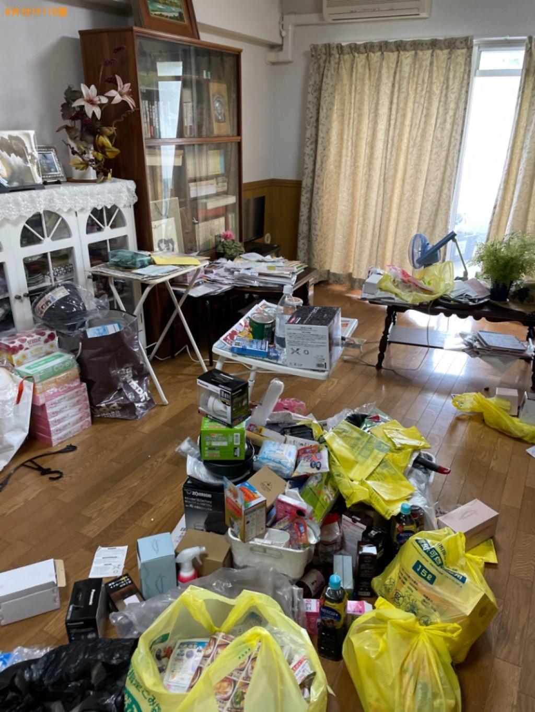 【木津川市】折り畳みベッド、ソファー、椅子等の回収・処分ご依頼