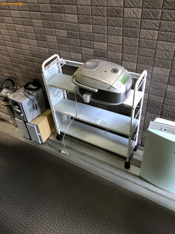 【京都市南区】エレクトーン、メタルラック、空気清浄機等の回収