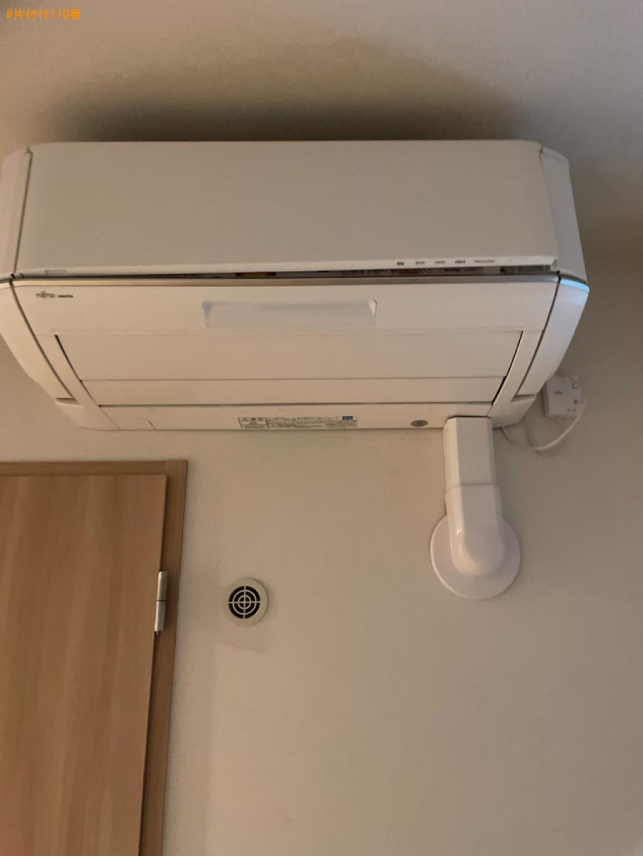 【京都市中京区】エアコンの取り外し・回収・処分ご依頼 お客様の声