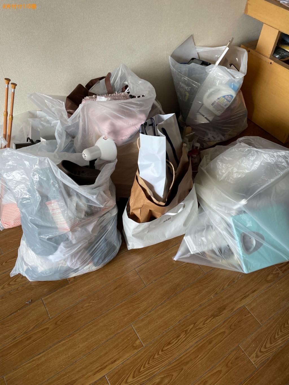 【京都市南区】体重計、照明器具、突っ張り棒、一般ごみ等の回収