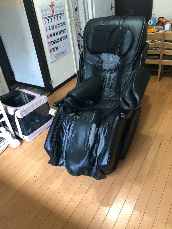 【京都市南区】マッサージチェアの回収・処分ご依頼 お客様の声