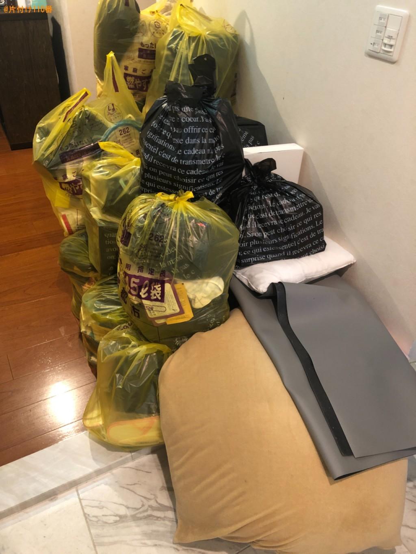 【京都市左京区】一般ごみ、布団等の回収・処分ご依頼 お客様の声