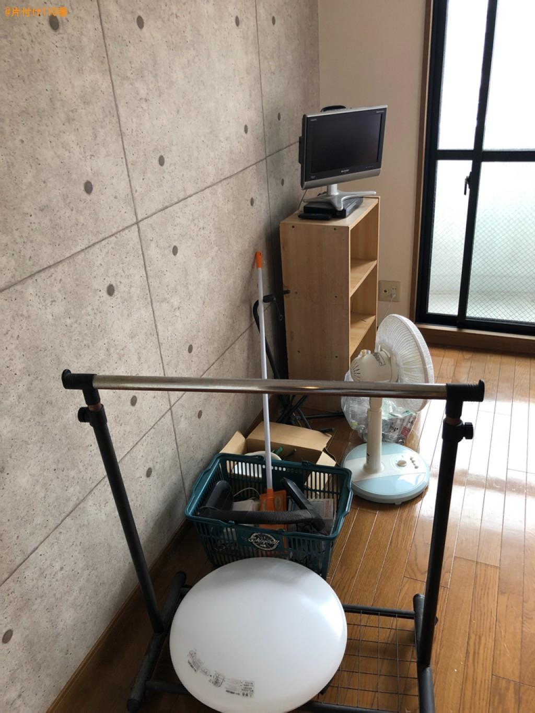 【京都市伏見区】冷蔵庫、テレビ、洗濯機、本棚、ラック等の回収