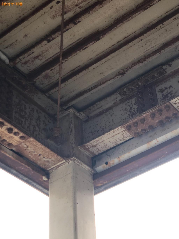 【八幡市】駐車場の上にある鳩除けの網の撤去ご依頼 お客様の声