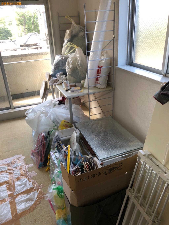 【京都市左京区】冷蔵庫、洗濯機、シングルベッド、学習机等の回収