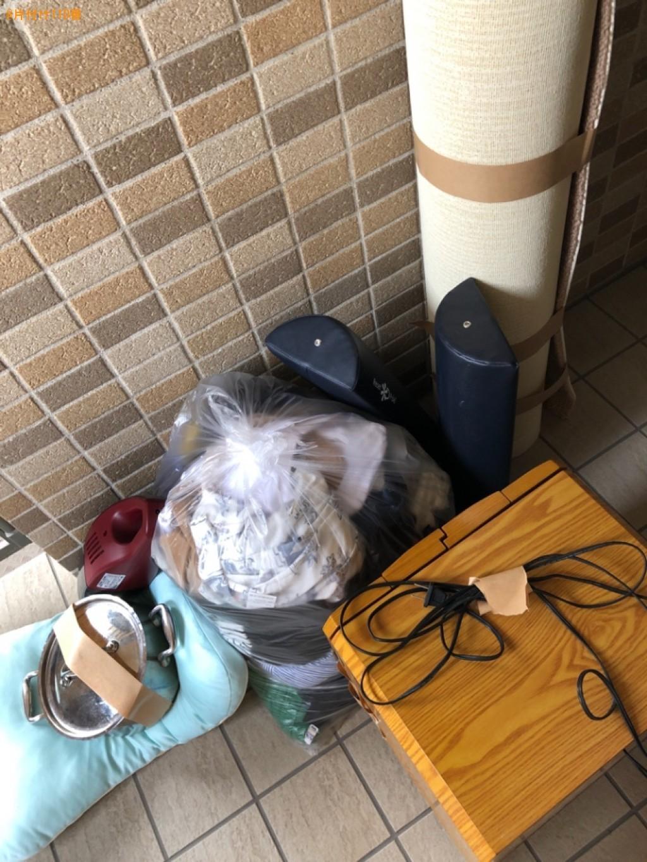 【京都市下京区】仏壇、掃除機、クッション、カーペット等の回収
