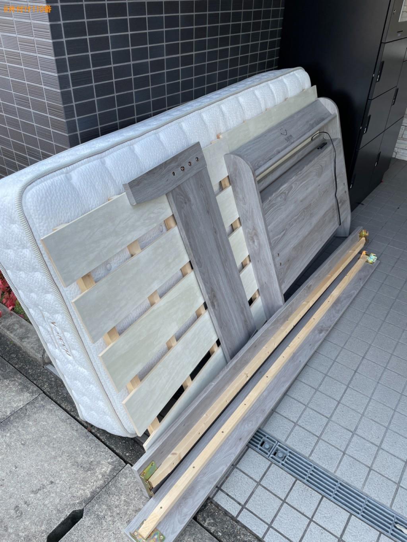 【京都市伏見区】シングルベッドの回収・処分ご依頼 お客様の声