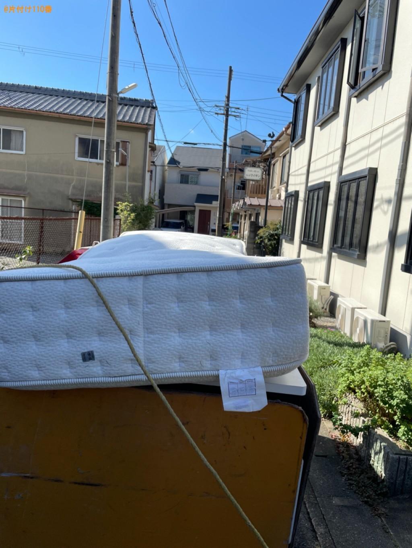 【京都市右京区】シングルベッドマットレスの回収・処分ご依頼