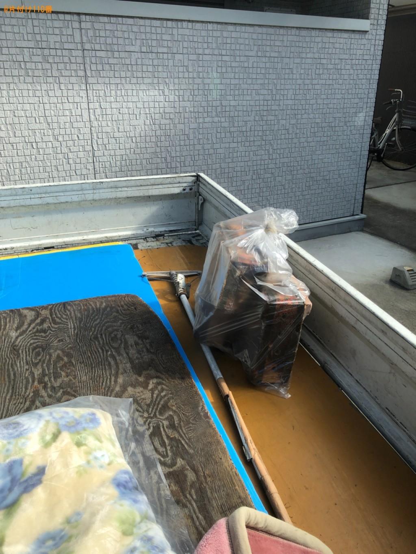 【京都市東山区】布団、ブロックの回収・処分ご依頼 お客様の声